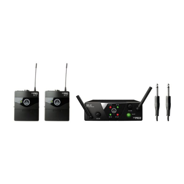 AKG WMS40 Mini Dua Instrumental Set Band ISM2-3